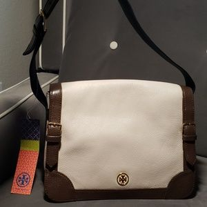 Tory Burch purse style 51119583 tan brown black